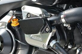 SV650(16年〜) レーシングスライダー ウォーターポンプ(アルミベース+ジュラコン) ジュラコン/ブラック AGRAS(アグラス)