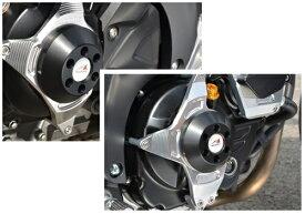 SV650(16年〜) レーシングスライダー ジェネレーター+クラッチ ジュラコン/ブラック AGRAS(アグラス)