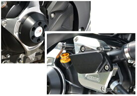 SV650(16年〜) レーシングスライダー ジェネレーター+ウォーターポンプ ジュラコン/ホワイト AGRAS(アグラス)