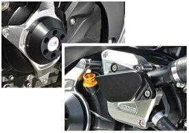 SV650(16年〜) レーシングスライダー ジェネレーター+ウォーターポンプ ジュラコン/ブラック AGRAS(アグラス)