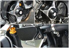 SV650(16年〜) レーシングスライダー ジェネレーター+クラッチ+ウォーターポンプ ジュラコン/ブラック AGRAS(アグラス)