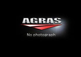 KATANA(刀) ヘルメットホルダー(アルミステー/ブラック ヘルメットロック/メッキ) AGRAS(アグラス)