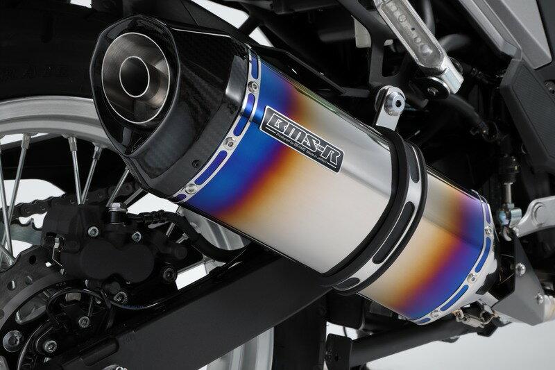 VERSYS-X 250(ヴェルシス250)2BK-LE250D GT-CORSA フルエキゾーストマフラー ヒートチタンサイレンサー 政府認証 BMS-R(ビームス)