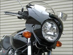 CB400SFVTECRevo(10年)ロードコメット2グラファイトブラック/キャンディグローリーレッド(限定カラー)クリア/通常スクリーンシックデザイン