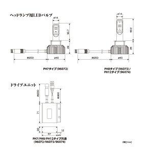 LEDヘッドランプバルブフォース・レイPH12DAYTONA(デイトナ)