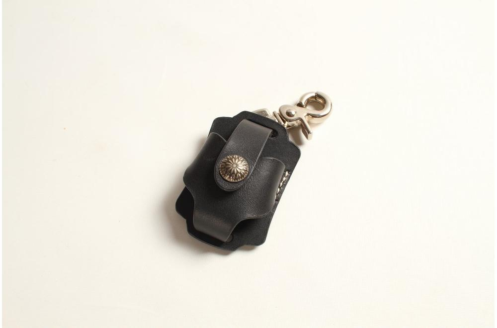 レザーZippoケース ブラック デグナー(DEGNER)