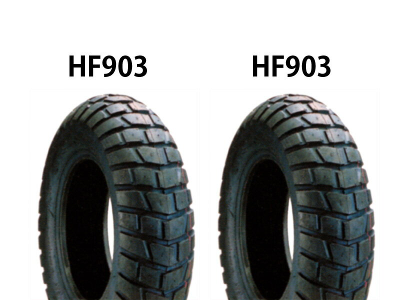 APE100(エイプ) タイヤ前後セット HF903 120/80-12×2本 DURO(デューロ)