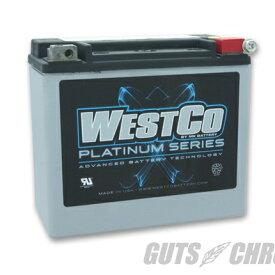 WCP20L PLATINUMシリーズ(AGMバッテリー)純正65989-97C互換 WESTCO(ウエストコ)
