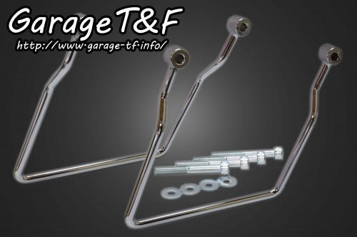 ドラッグスター400(DRAGSTAR) サドルバックサポート(スタンダードモデル専用) ガレージT&F