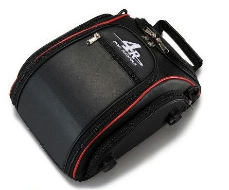 4R Rhythmストリームラインシートバッグ 9L ブラック/レッド KIJIMA(キジマ)