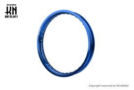 RCB アルミホイールリム(160-17)ブルー(36H) KN企画