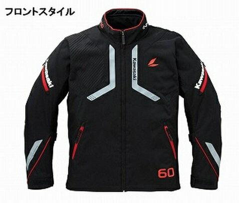 ラングレーオールシーズンジャケット R (秋冬モデル) レッド・3Lサイズ KAWASAKI(カワサキ)