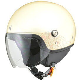 PALIO(パリオ) ジェットヘルメット アイボリー レディースフリー(55〜57cm未満) リード工業