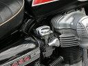 W650 キャブレタートップカバーSharp Finセット(FORK) MOTORROCK(モーターロック)