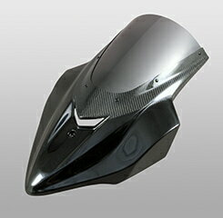 Z1000(14年〜) バイザースクリーン FRP製・黒/一部平織りカーボン製 スモークスクリーン MAGICAL RACING(マジカルレーシング)