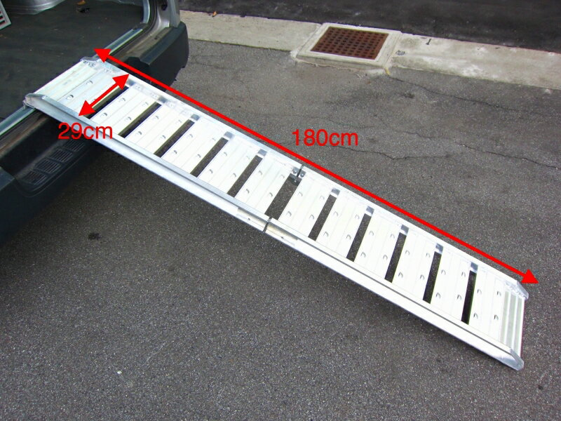 モーターサイクル用アルミ製スロープ折り畳み式 MINIMOTO(ミニモト)