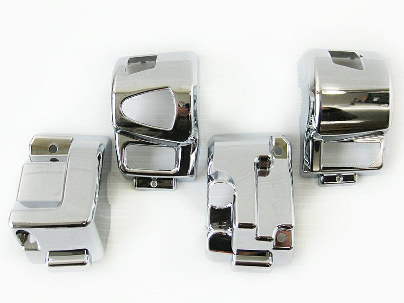 PCX150 ハンドルスイッチカバー メッキ MAD MAX(マッドマックス)
