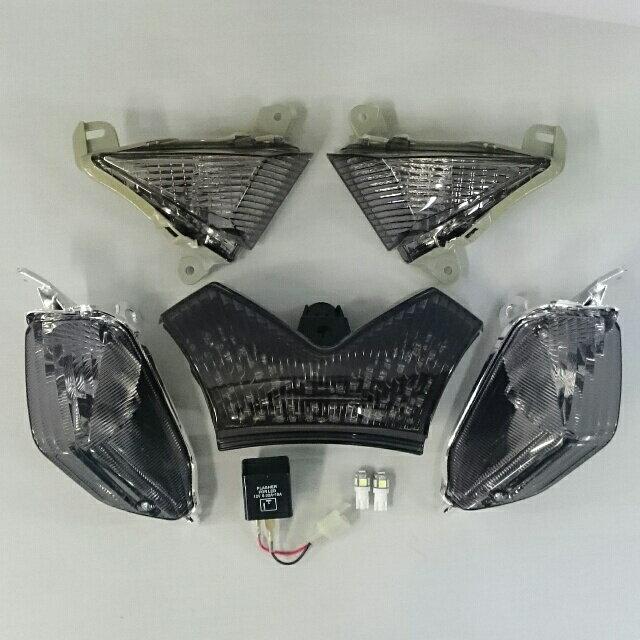 ZZR1400 スモークレンズ・コンプリートキット2A 【保安基準適合品】 ODAX(オダックス)