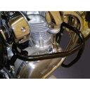 W800 エンジンガード スチール製 ブラック レンテック(RENNTEC)