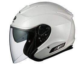 ASAGI(アサギ) パールホワイト Sサイズ インナーサンシェード付オープンヘルメット OGK