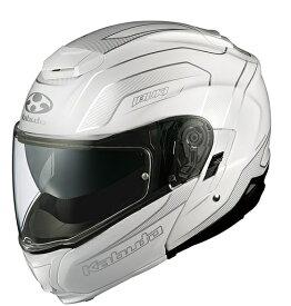 IBUKI(イブキ)ENVOY(エンヴォイ)パールホワイト Sサイズ(55-56cm)システムヘルメット OGK