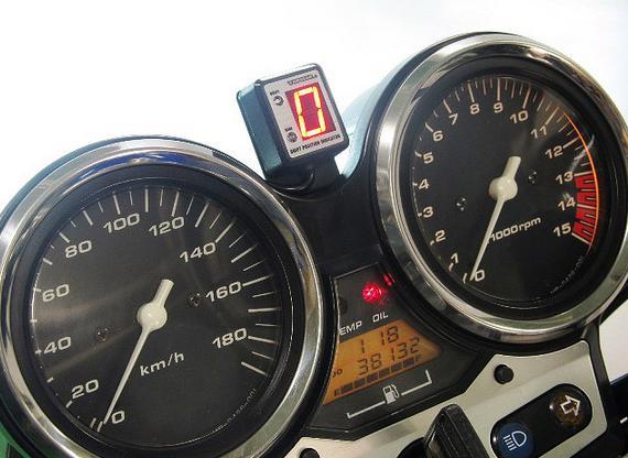 CB400SF H-VTEC SPEC-1/3(99〜01年、04〜07年) SPI-H19 シフトポジションインジケーター車種専用キット PROTEC(プロテック)
