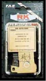 RK(アールケー) ブレーキパッド RK-826FA5 HONDA(ホンダ) スティード400/600 '88〜'92、GL1500 〜'98