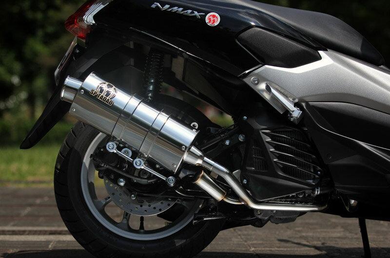 NMAX(エヌマックス)SE86J POWERBOXFULL(パワーボックスフルエキゾーストマフラー)サイレントバージョン ステンレス SP忠男(SP TADAO)