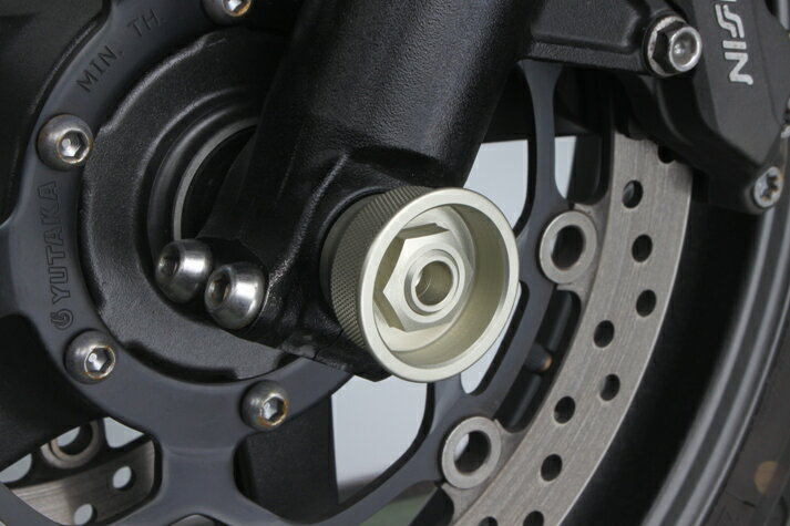 CB1300ST 耐久アクスルカップアタッチメント M14 ハードアルマイト TSR(テクニカルスポーツ)
