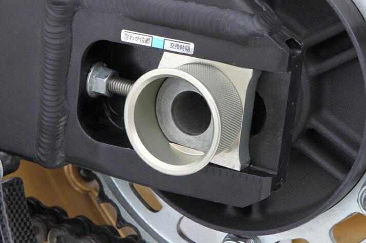 CBR1000RR(06年) 耐久カップ リヤアクスルカラーセット ハードアルマイト TSR(テクニカルスポーツ)