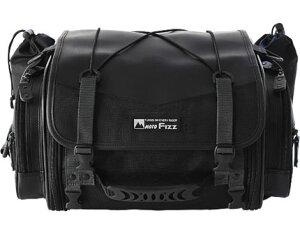 ミニフィールドシートバッグ(ブラック)19〜27LMOTOFIZZ(モトフィズ)