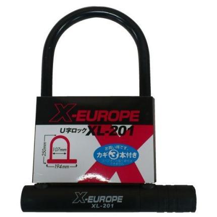 U字ロック(180mm×245mm) X-EUROPE(クロスヨーロッパ)