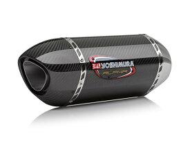 SV650 ABS(16〜19年) USヨシムラ Slip-On ALPHAサイクロン SCC (カーボンカバー/カーボンエンドタイプ)政府認証スリップオンマフラー YOSHIMURA(ヨシムラ)
