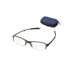 老眼鏡 シンプルビジョン コンパクト SV-801 GR +1.00 071541