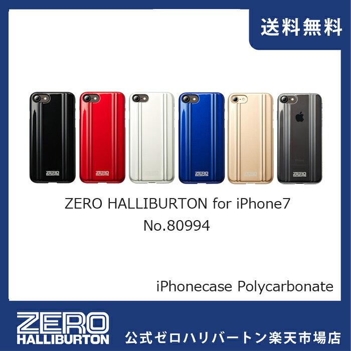 iPhone8ケース iPhone7ケース ゼロハリバートン iPhonecase ZEROHALLIBURTON  iPhoneケース for 7/8 (ポリカーボネート) 80994