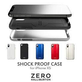 iPhone XS ケース ゼロハリバートン ポリカーボネート製 80991