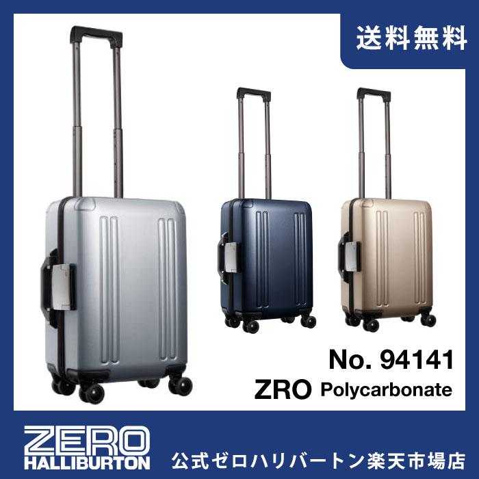 スーツケース 機内持込み ZERO HALLIBURTON ゼロハリバートン ZRO-P 送料無料 30リットル 機内持込対応サイズ 国内外の2泊程度の旅行に キャリーバッグ キャリーケース 94141