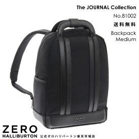 リュックサック メンズ ビジネス ゼロハリバートン The JOURNAL Collection Backpack Medium ブラック 81002