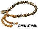 【あす楽対応】amp japan(アンプジャパン)【4AK-163】レザー ブレスレット【ギフト包装-対応】