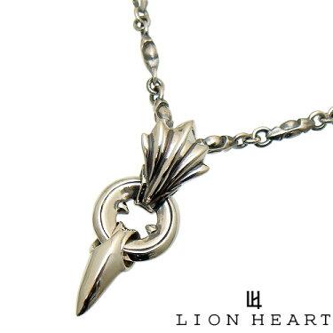 LIONHEARTライオンハート01NE0061SVファングドペンダントネックレス[チェーン付]【ギフト包装-対応】