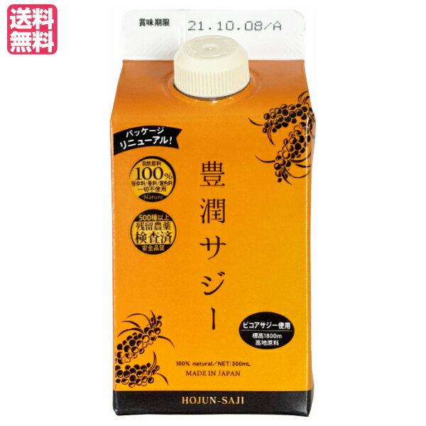 【ポイント3倍】黄酸汁 豊潤サジー300ml お試しサイズ オーガニックサジー使用のサジージュース
