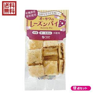 菓子パン レーズンパン レーズンサンド オーサワのレーズンパイ 60g 12個セット