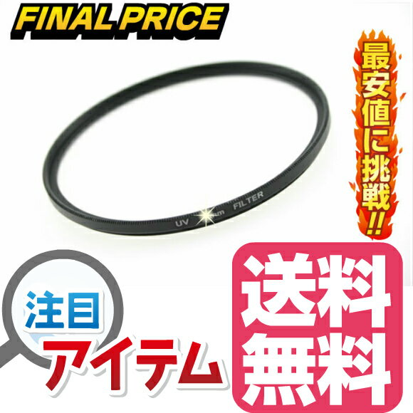 【特価】レンズ保護フィルター プロテクター