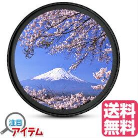レンズ保護フィルター プロテクター レンズフィルター UV レンズ保護用 Canon Nikon OLYMPUS SONY Panasonic Fujifilm メーカー対応