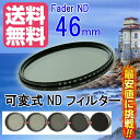 【FOTOBESTWAY】  可変式NDフィルターFader NDフィルター46mm