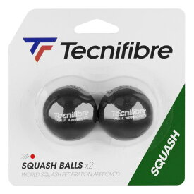 Tecnifibre テクニファイバー スカッシュボール SQUASH BALL RED DOT BY2【あす楽対応】
