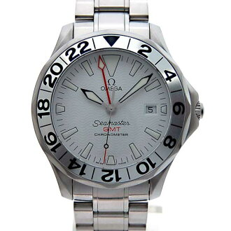 Omega OMEGA Seamaster GMT 2538-20 white 300 m waterproof 42 mm automatic book brand new