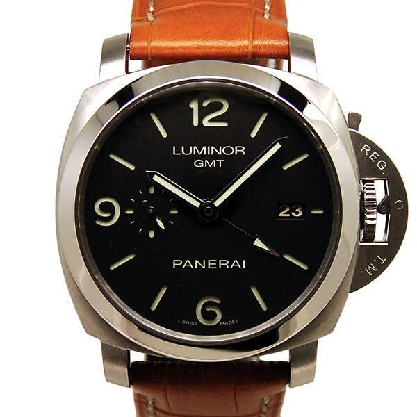 【外装仕上げ済み】パネライ PANERAI ルミノール1950 3デイズ GMT PAM00320 44mm USED 中古