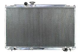 3層56mmアルミラジエーター トヨタ マーク2 チェイサー、クレスタ JZX100 1JZ-GTE
