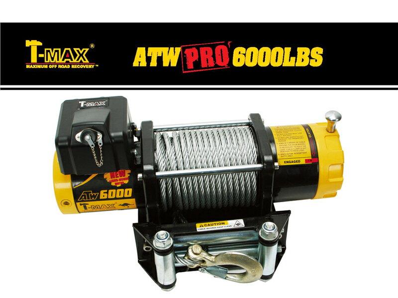 T-MAXハンマーマックス 電動ウインチ 12V 6000LBS ATWPRO